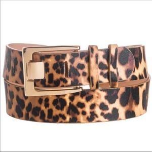 Accessories - Leopard Print Belt